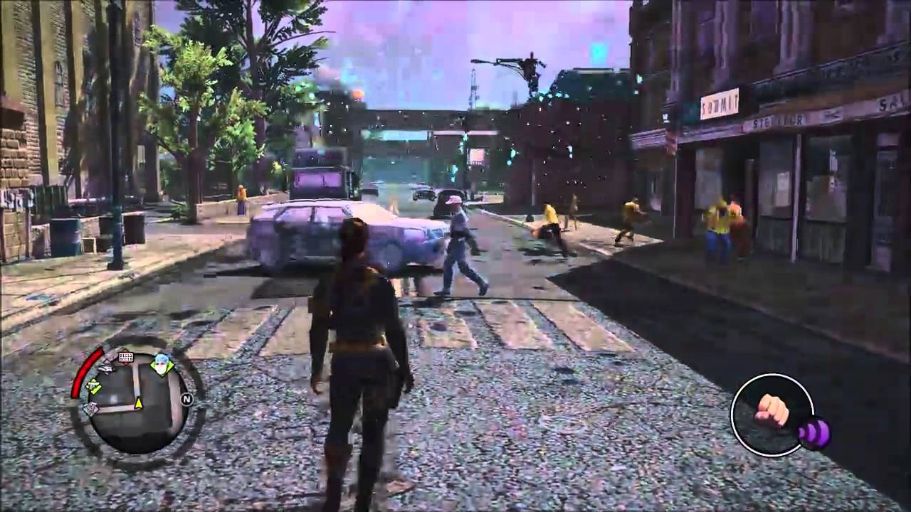 Saints Row Iv Changing Time Of Day And Disable Superpowers Youtube