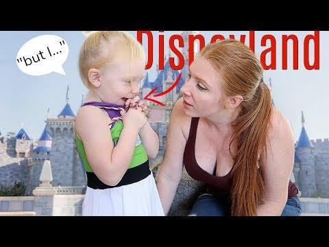 Surprising my toddler w/ DISNEYLAND trip