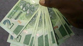 Власти Зимбабве выпустили новые деньги   economy