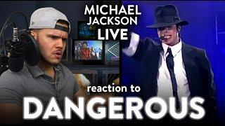 Michael Jackson Reaction Dangerous LIVE Munich (GRAND!) | Dereck Reacts