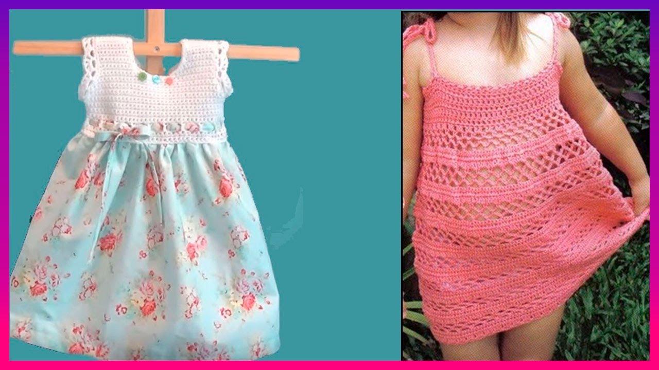 LOS MAS ESPECTACULARES Vestidos tejidos a crochet fáciles de hacer