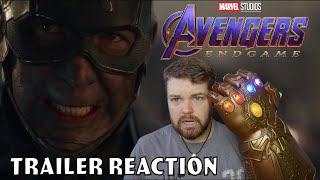 Avengers Endgame Trailer Reaction