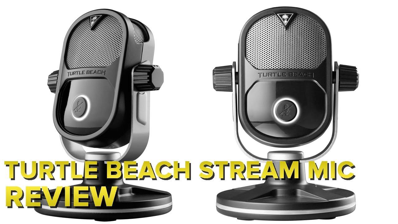 The Turtle Beach Stream Mic actually sounds way better than