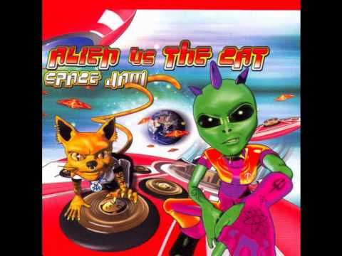 Alien Vs The Cat - Space Jam