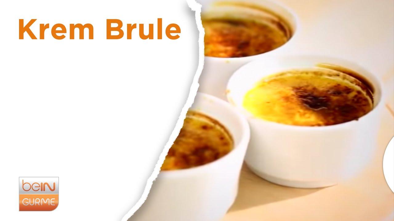Creme Brulee Nasıl Yapılır Videosu
