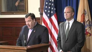 Governor Christie: New Jersey