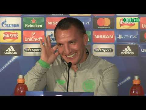 Celtic TV -  Brendan Rodgers - Pre Astana Home Game