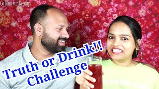 Truth Or Drink Challenge | Couple Tag Video in Malayalam