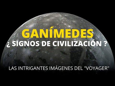 GANÍMEDES . SIGNOS DE CIVILIZACIÓN EN LA LUNA MAS GRANDE DE JÚPITER.