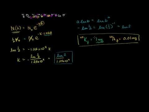 k-ar dating calculation