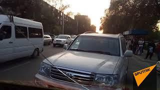 Нарушение ПДД в Бишкеке