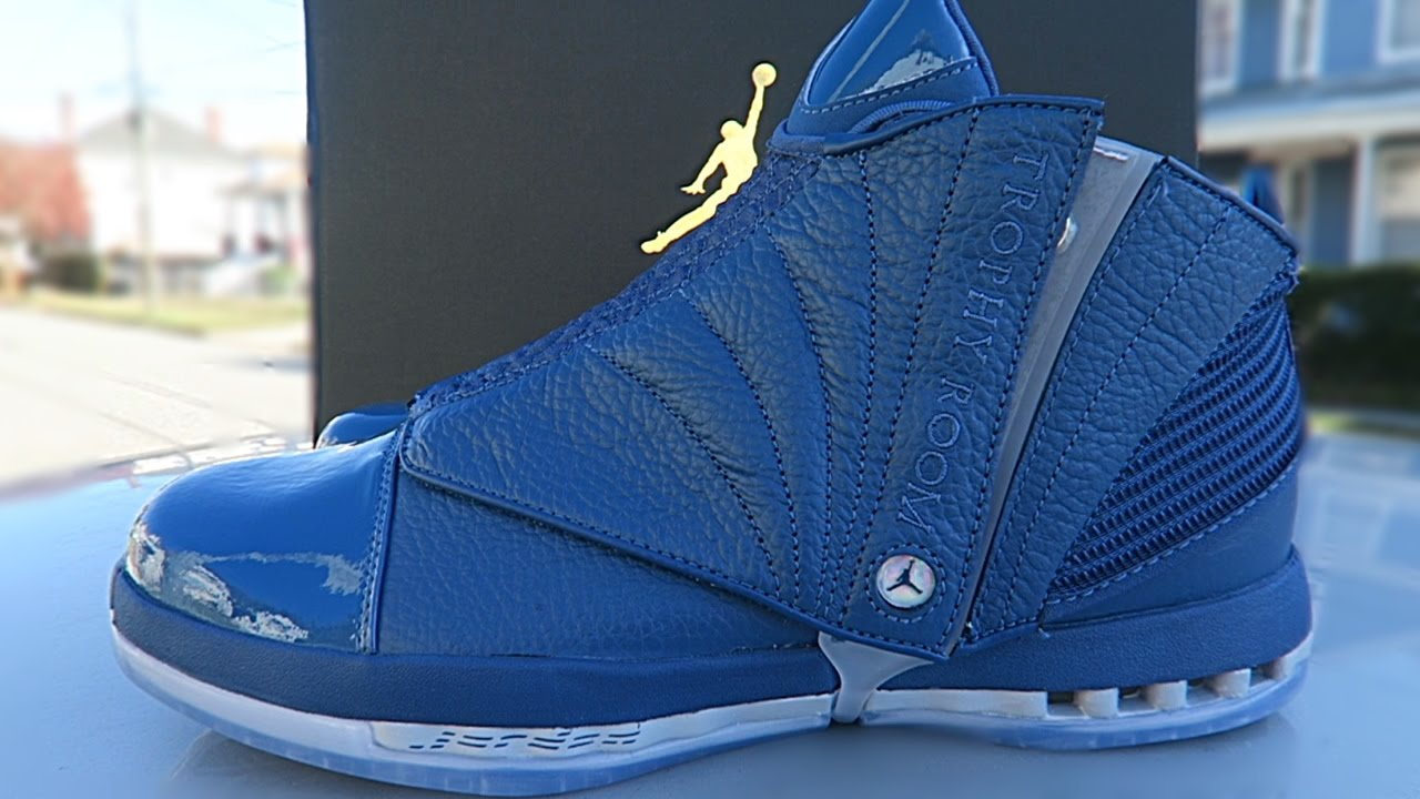 6f1792f2cb29 AIR JORDAN 16 TROPHY ROOM LIMITED TO 5000 PAIRS LEGIT CHECK!!! - YouTube