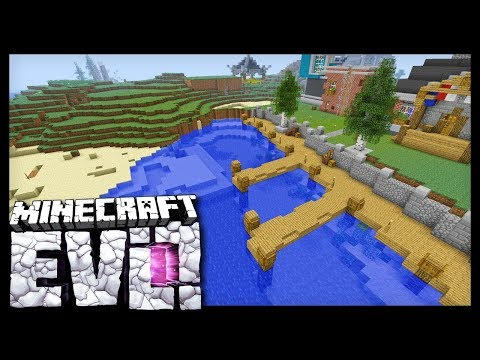 BUILDING A HARBOR! - Minecraft Evolution SMP - #40