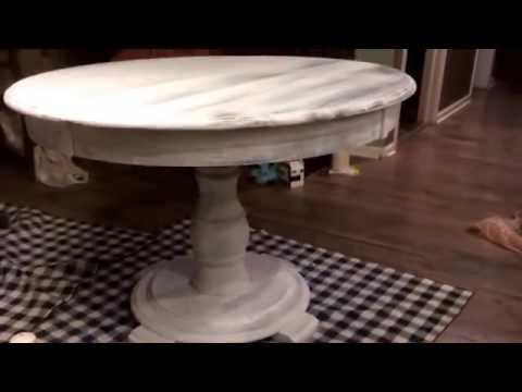Shabby chic table project.