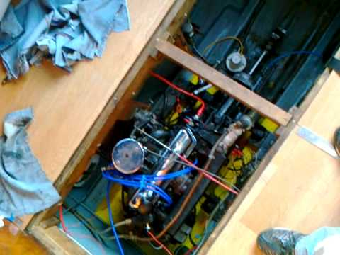 Ford Watermota 1600cc Crossflow Sea tiger- Spluttering under load - YouTube