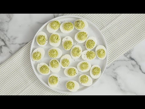 Avocado Deviled Eggs - Martha Stewart