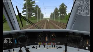 """Let´s Play - Train Simulator 2001 - ICE 1 mit """"Dummy""""-Wagen (ausrangierten D-Zug-Wagen)"""