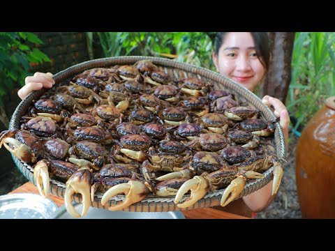 Yummy Rice Field Crab Soup Cooking – Rice Field Crab Cooking – Cooking With Sros