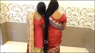 Repeat youtube video ILHW Two Real Rapunzel Combo braid Making with Knee Length Hair...
