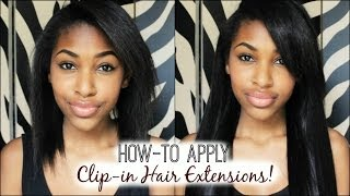 How-to Apply Clip-in Hair Extensions! Thumbnail