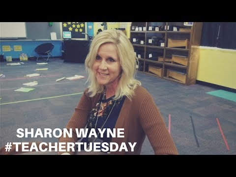 #TeacherTuesday | Sharon Wayne