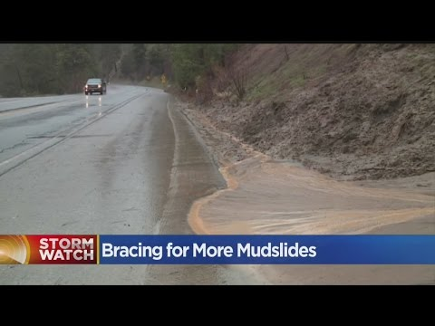 Caltrans Preparing For Mudslides Along Highway 50 As Storms Move In