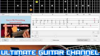 [Guitar Solo Tab] You're My Everything (Intermediate)