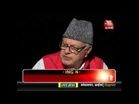 Third Degree: Farooq Abdullah Questioned Over Kashmir-Pakist
