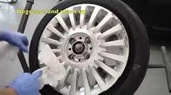 Car Alloy Wheel Refurbishment/ Painted Rims. The Bodycentre Norwich
