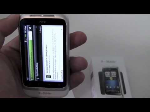 HTC Wildfire S (T-Mobile) Unboxing