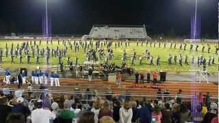 Walker Valley HS Band 092112 - Dubstep, Adele, Runaway Baby