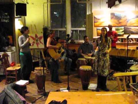 Marni Levitt Collective live with Drumhand at Merchants of Green Coffee Toronto Jan.22 2011