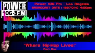 KPWR 105.9 Mhz - Power 106 - Los Angeles [1997-01-10] part 1