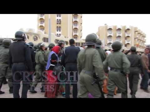 المعطلين الصحراويين بالعيون يخلدون اليوم العالمي للنضال ضد البطالة