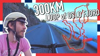 I tried to cycle 300KM around OSLO FJORD in one ride...