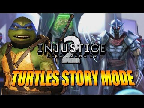 NINJA TURTLES - Story Mode Run: Injustice 2