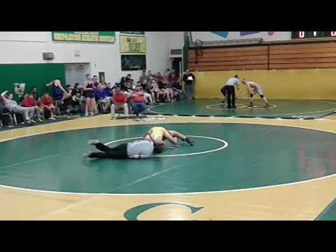 Cameron Owens Findlay High Wrestler vs. Lima Senior High