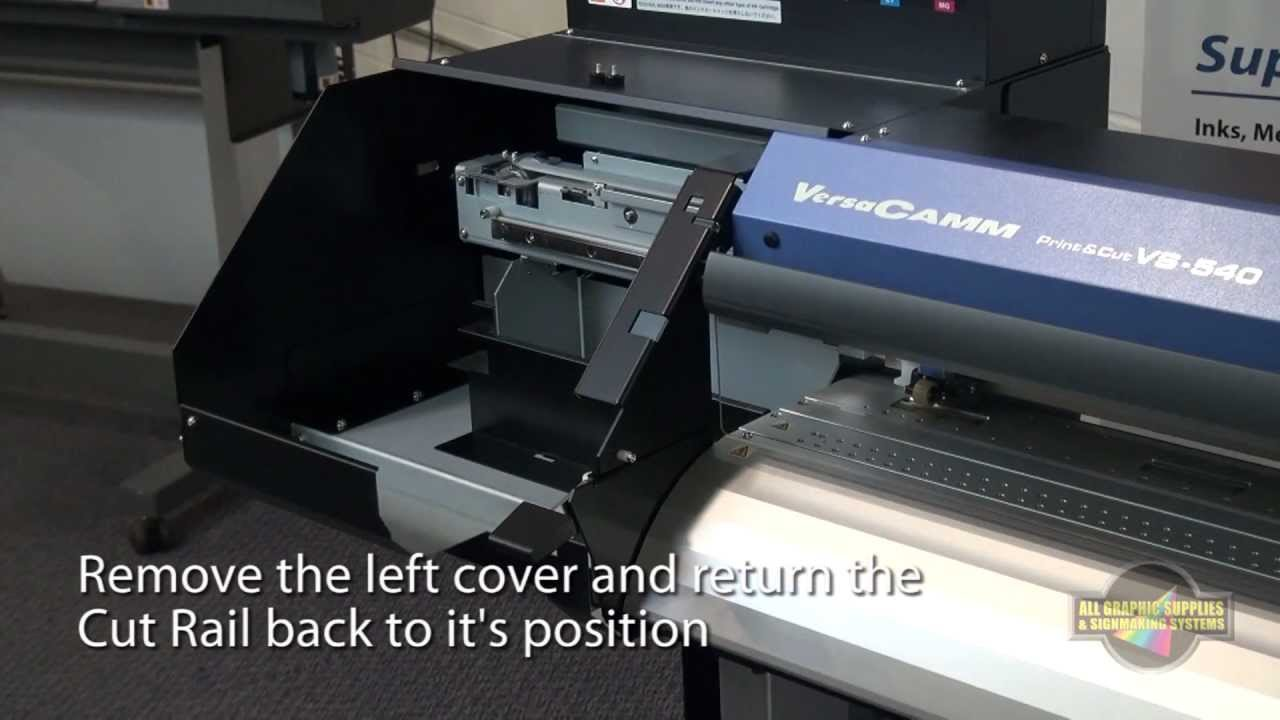 Roland VersaCamm VS Series: Cleaning & Maintenance - All Graphic Supplies