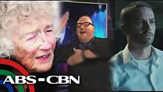 Download Lagu Bandila: Granny Swims With Sharks, Translator Who Has `the Moves`, & Paul Walker In `Furious 7`
