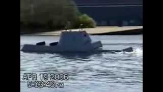 DDG 1000 Tumblehome Hull Test