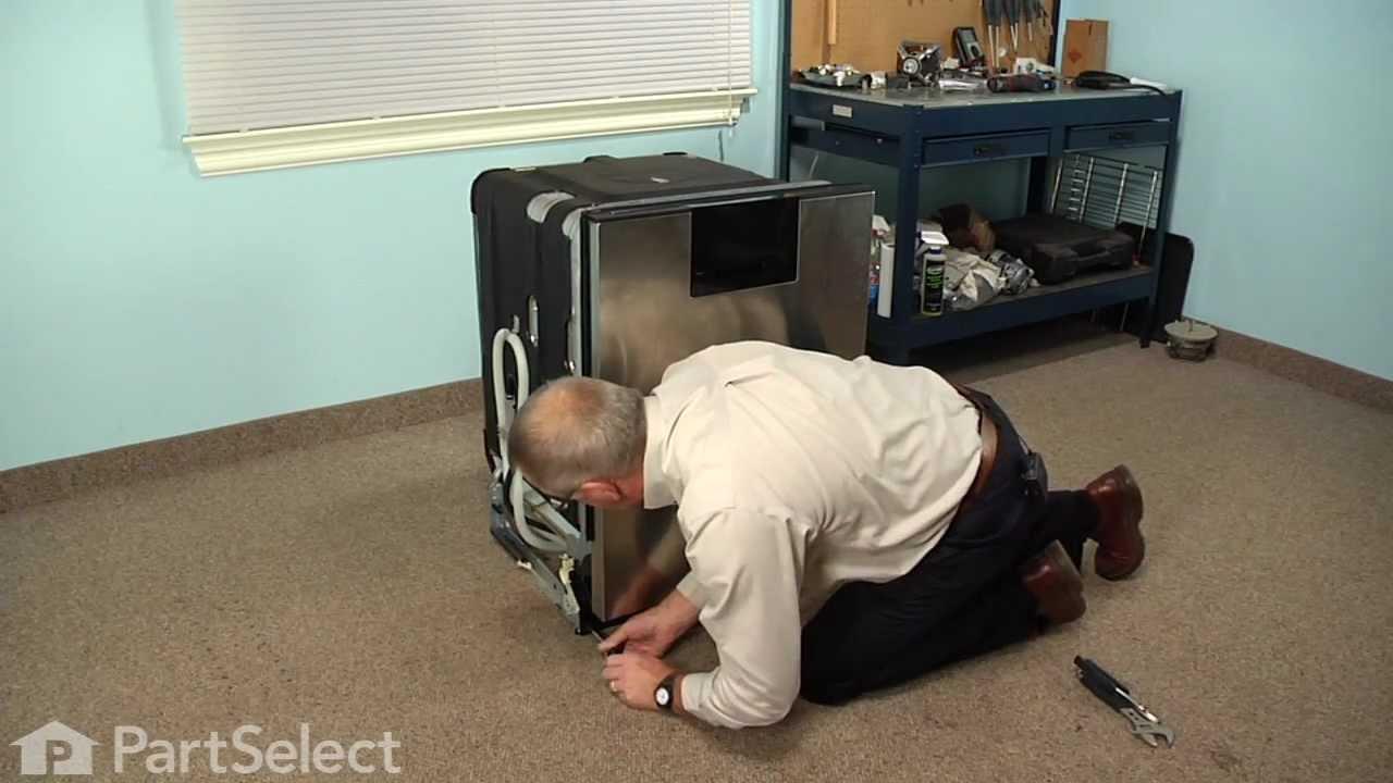 dishwasher repair replacing the water inlet valve whirlpool part w10158389  [ 1280 x 720 Pixel ]