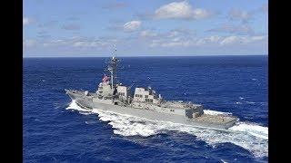 军舰为了在演习中表现 失误按错钮发射真鱼雷 直奔总统座驾冲去