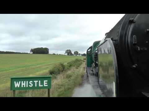 Mid Hants Railway Green Timetable Service 15/09/15