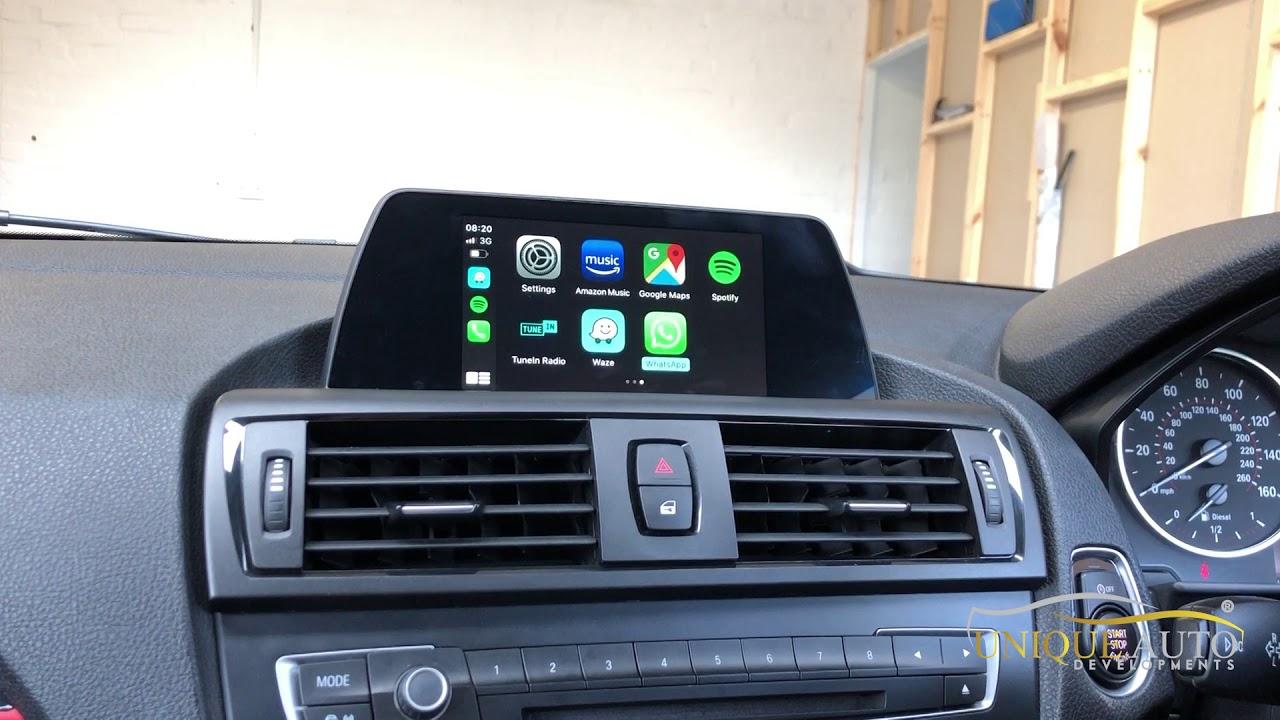 Wireless Apple CarPlay Android Auto NBT EVO F10/F20/F30 1/2/3/4/5/X1/X2  Series 2017-2019 with 6 5