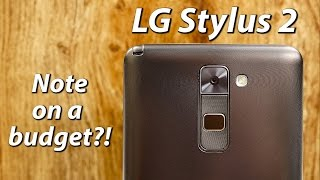 LG Stylus 2 Review | Note on a budget?!