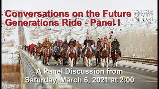 Conversations on the Future Generations Ride - Panel 1
