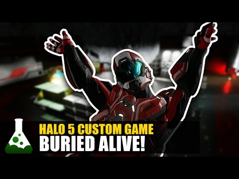 Halo 5 Custom Games - Buried Alive!