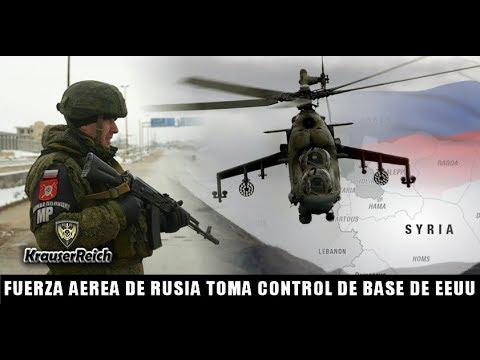 LO ULTIMO : Nueva Base Aérea de Rusia pone en Alerta a Fuerzas Militares de EEUU en territorio SIRIO