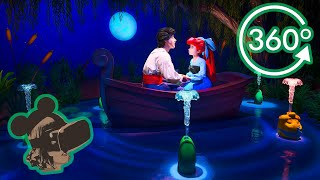 360º 4K Ride on Under The Sea Journey of the Little Mermaid (Complete)
