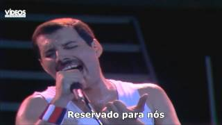 Repeat youtube video Queen -  Who Wants to Live Forever  - Legendado
